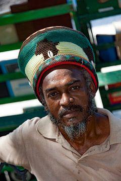 Cubaanse man met muts