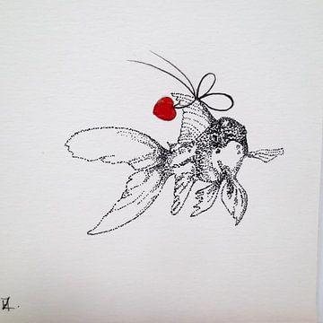 HeartFlow Goudvis von Helma van der Zwan