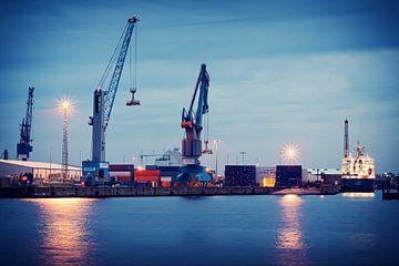 Hamburg Hafen von Alexander Voss