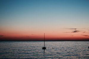 Zonsondergang in Kroatië van