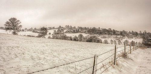 Winters landschap in Simpelveld