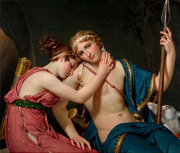 Der Abschied von Telemachus und Eucharis, Jacques-Louis David