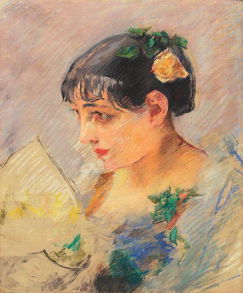 Die spanische Dame, Eva Gonzalès von Meesterlijcke Meesters