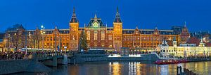Panorama Amsterdam Centraal station