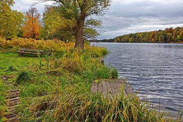 Herbstidylle am Groß Behnitzer See von Gisela Scheffbuch