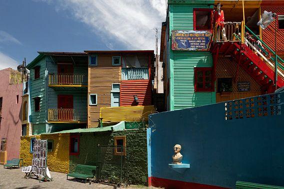 Buenos Aires - La Boca van Eddy Kuipers