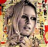 Brigitte Bardot ist das Rauchen von Michiel Folkers Miniaturansicht