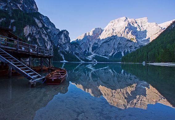 Morgenstimmung am Pragser Wildsee