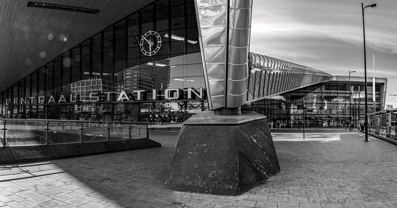 Panorama Rotterdam CS van Ton de Koning