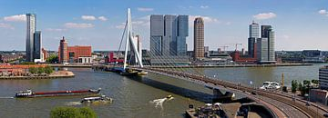 Panorama Kop van Zuid Rotterdam van