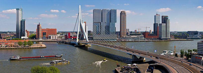 Panorama Kop van Zuid Rotterdam van Anton de Zeeuw
