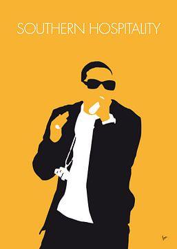 No154 MY Ludacris Minimal Music poster van Chungkong Art