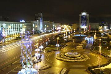 Minsk-Plein regeingsgebouw von Maaikel de Haas