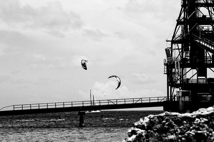 Kitesurfen Salt Pier Bonaire van noeky1980 photography
