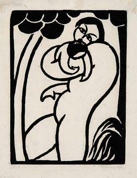 Georg Schrimpf, Mutter mit Kind - 1915 von Atelier Liesjes
