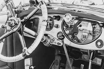 Rolls Royce Phantom II Croydon Cabrio Oldtimer von Brewster Armaturenbrett von Sjoerd van der Wal