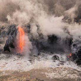 Lava in zee van Jim De Sitter