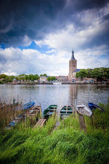 De kade van Hasselt (Overijssel)