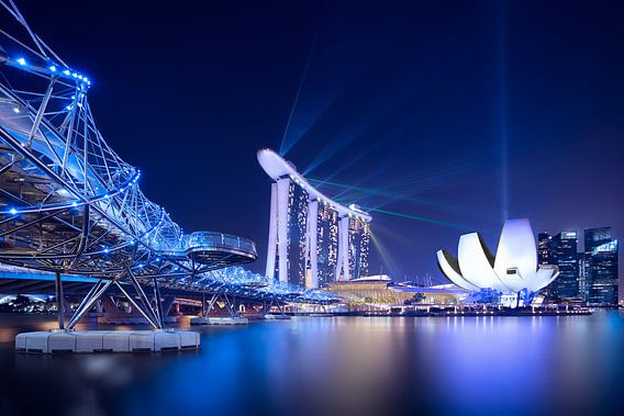 Marina Bay,  Singapore van Sander Sterk