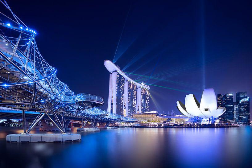 Marina Bay,  Singapore von Sander Sterk