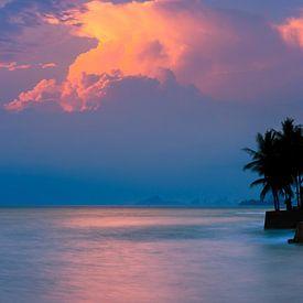 Lever du soleil Hua Hin, Thaïlande sur Henk Meijer Photography