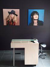 Photo de nos clients: Marion Cotillard Painting sur Paul Meijering, sur toile