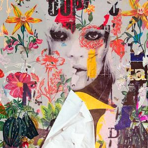 Kate Moss - Plakative Dadaismus - Nonsens