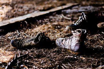 vergeten schoenen von Bertrik Hakvoort