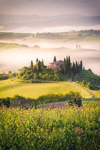 Een Toscaanse ochtend van