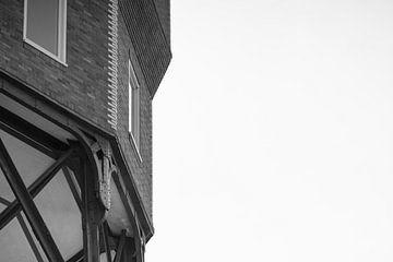 Oude watertoren in Groningen van Foto's uit Groningen