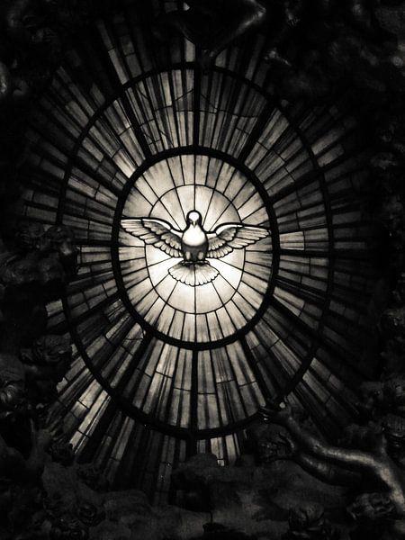 The Holy Spirit as a dove van Inez Wijker