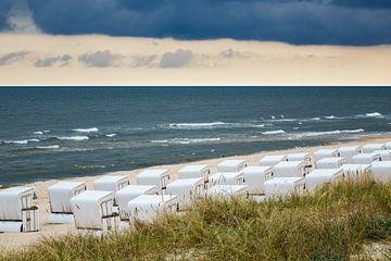 Strandkörbe in Zinnowitz auf der Insel Usedom von Rico Ködder