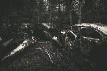 Verlassene Volkswagen Stau von Maikel Brands