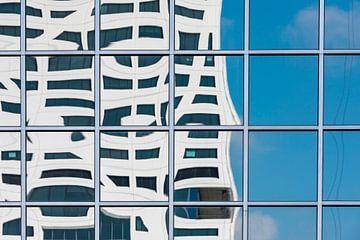 Reflektion vom Stadtbüro von Daan Kloeg