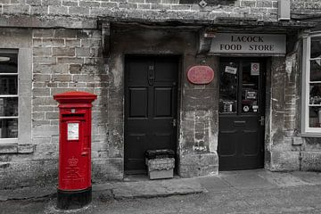 roter Briefkasten von Jürgen Wiesler
