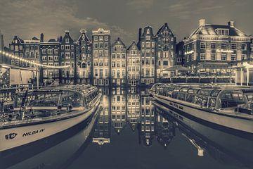 Damrak Amsterdam Jahrgang von Claudia De Vries