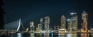 Skyline Rotterdam van Jeroen te Lindert