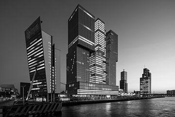 De Rotterdam op de Kop van Zuid von Raoul Suermondt