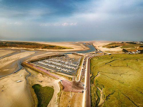 De haven van Portbail van Ruud Peters