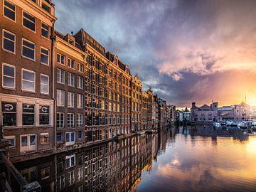 Amsterdam Damrak von Mario Calma