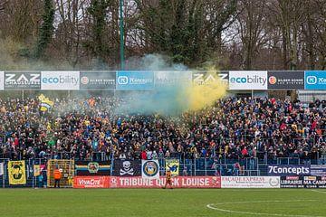 Stade Joseph Marien, Royale Union Saint-Gilloise vs RWDM van Martijn Mureau