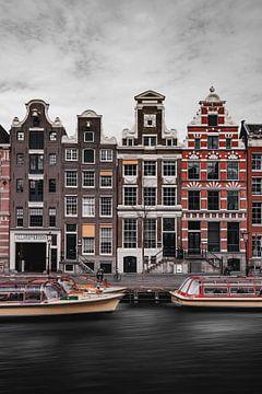 Rokin, Amsterdam von Johnny van der Leelie