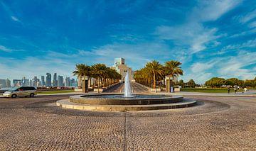 Museum für Islamische Kunst Doha, Katar Außenansicht bei Tageslicht von Mohamed Abdelrazek