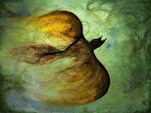 Vuurvogel van Atelier van Saskia
