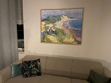 Kundenfoto: Meer und Dünen bei Zoutelande, Jan Toorop, von Atelier Liesjes, auf leinwand