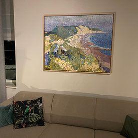 Photo de nos clients: Mer et dunes près de Zoutelande, Jan Toorop, sur Atelier Liesjes, sur toile