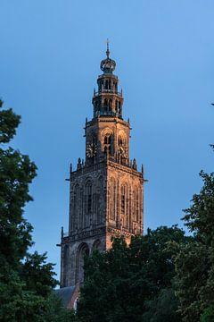 Ein Foto des Martini-Turms in Groningen von Vincent Alkema