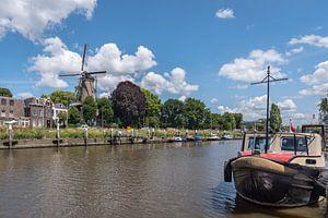 Hollandsche IJssel met molen 't Slot