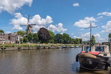 Hollandsche IJssel met molen 't Slot van Rinus Lasschuyt Fotografie