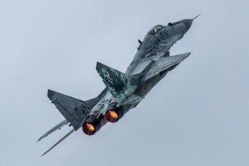 MIG29 Poolse luchtmacht sur Joram Janssen